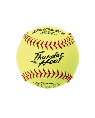 COLLEGIATE THUNDER HEAT® FASTPITCH SOFTBALL - 12 PACK