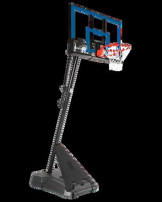 "Hercules® Exactaheight™ Portable Basketball Hoop System - 50"" Acrylic"
