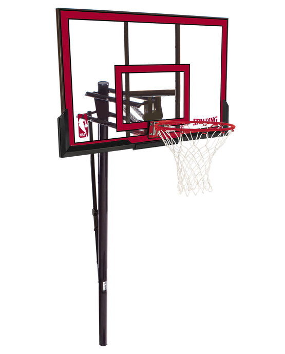 """Pro Glide™ In-Ground Basketball Hoop System - 48"""" Polycarbonate"""