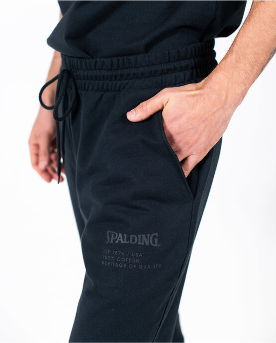 Men's Logo Jogger Black Small BLACK