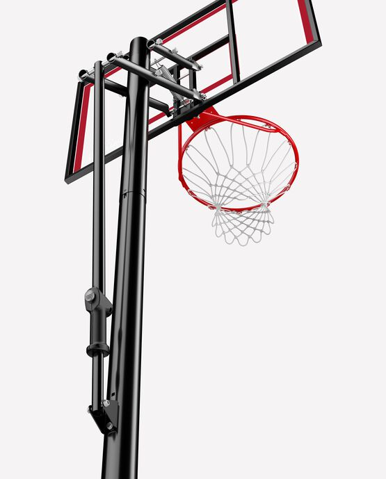 "44"" Shatter-proof Polycarbonate Pro Glide® Portable Basketball Hoop"