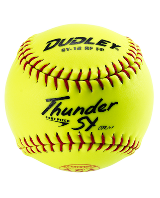 ASA THUNDER SY FASTPITCH SOFTBALL - 12 PACK
