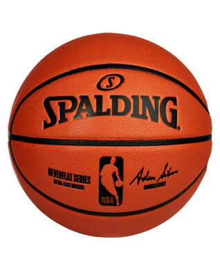 Spalding® NBA NeverFlat® Game Ball Replica Series Basketball