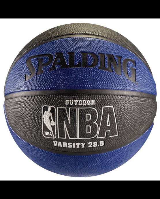 "NBA Varsity Multi-Color Outdoor Basketball - 28.5"" - Blue and Black Blue/Black"