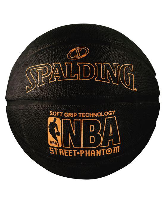 NBA Street Phantom Black and Neon Orange Outdoor Basketball neonorange/black