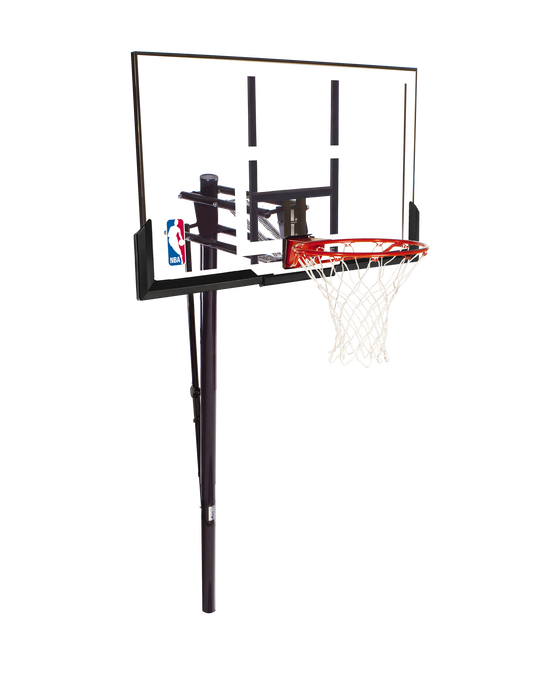 """Pro Glide™ In-Ground Basketball Hoop System - 52"""" Acrylic"""