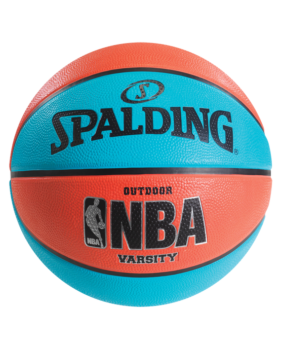NBA Varsity Multi-Color Outdoor Basketball -  Neon Pink & Blue Neon Pink/Blue