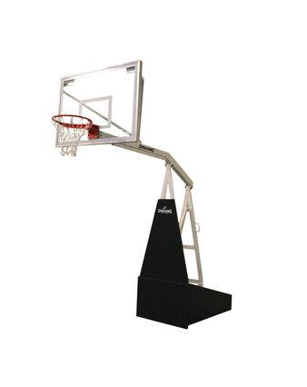 "Spalding® 2000 54"" Glass Portable Basketball Hoop"