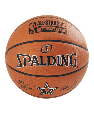 2018 NBA ALL STAR OFFICIAL GAME BALL