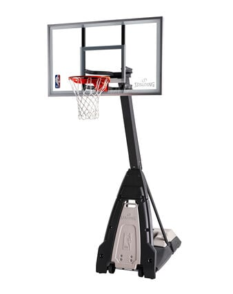 """The Beast® 60"""" Glass Portable Basketball Hoop System"""
