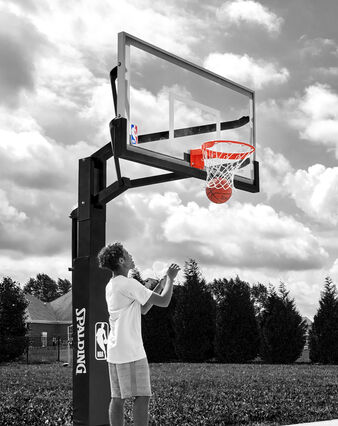 Arena View® Series In-Ground Basketball Hoop