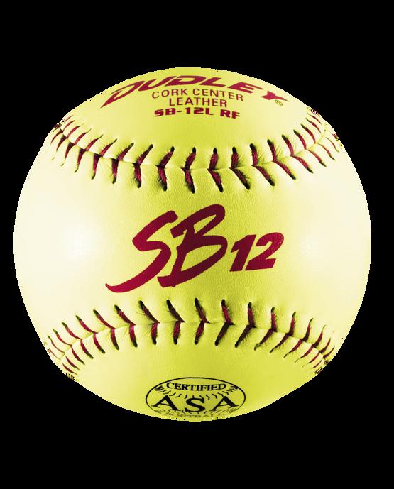 ASA SB 12L SLOWPITCH SOFTBALL - 12 PACK