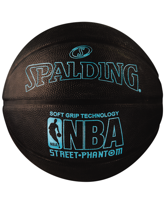 NBA Street Phantom Black and Neon Blue Outdoor Basketball Neon Blue/Black