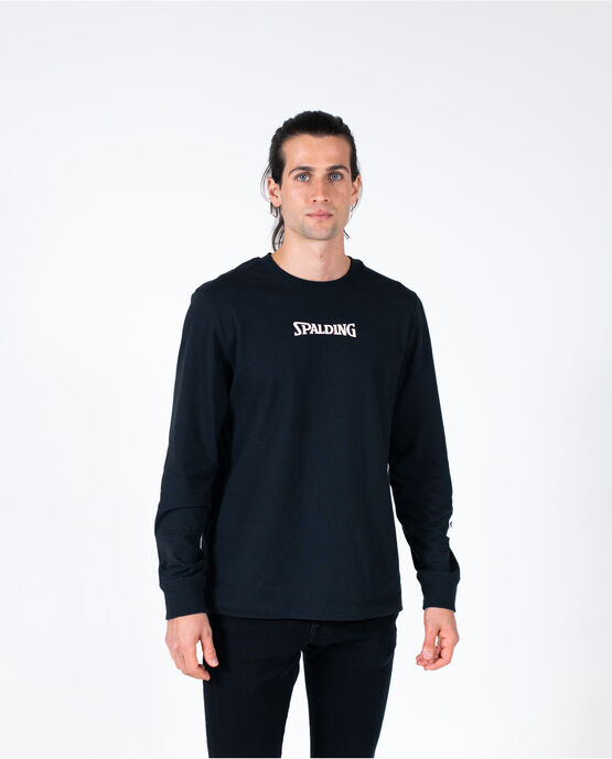 Men's Logo Long Sleeve Tee Black XXL BLACK