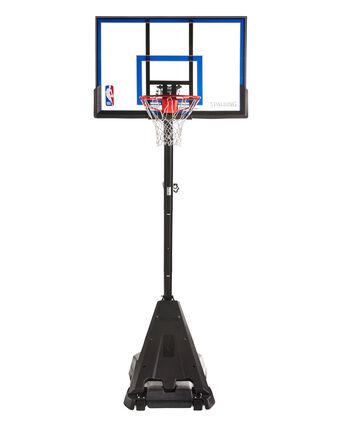 "Hercules® 50"" Exactaheight Acrylic Portable Basketball Hoop"