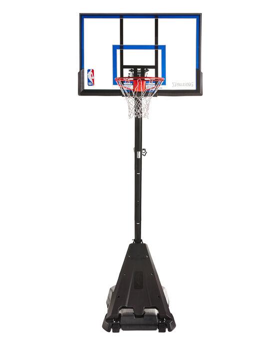 Spalding Hercules® Exactaheight™ Portable Basketball Hoop System Black