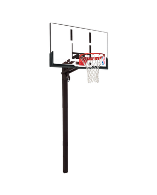 "U-Turn® In-Ground Basketball Hoop System - 54"" Acrylic"