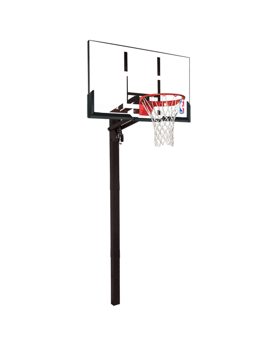 "U-Turn® In-Ground Basketball Hoop System - 54"" Acrylic"