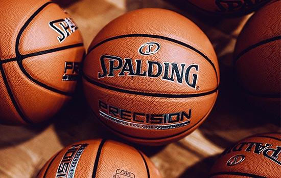 Spalding Precision basketballs