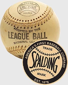 Baseball League Ball